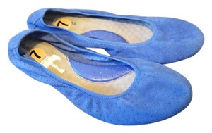 Hush Puppies Blue Flats