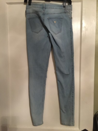 Guess Very Light Blue Jeans. Skinny Pants - 85% Off Retail on sale