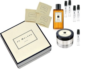 Jo Malone Blackberry Bay and Woodsage Sea Salt travel sample set