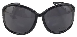 Tom Ford Claudia Tom Ford TF 75 Bkak Plastic Sunglasses