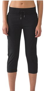 Lululemon Lululemon Dance Studio Crop II UnLined Black Pant Size 8
