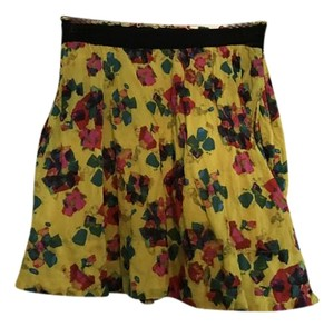 Rachel Roy Mini Mini Skirt Neon Floral