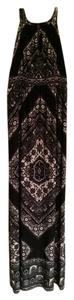 Black multi Maxi Dress by INC International Concepts