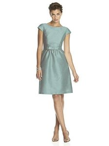 Alfred Sung Blue/Grey Alfred Sung Fit And Flare Dress