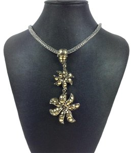 John Hardy Ayu Jasmine 18K and Sterling Silver Necklace