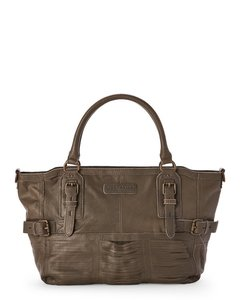 Liebeskind Leather Satchel in Toffee