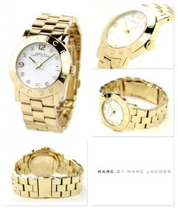Marc by Marc Jacobs Marc By Marc Jacobs Ladies Watch- Amy Gold-tone