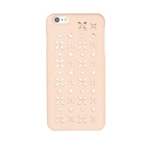 Michael Kors Iphone 6 6S Perforated Cover Case Light Peach