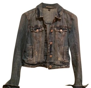 American Eagle distressed jean jacket Womens Jean Jacket
