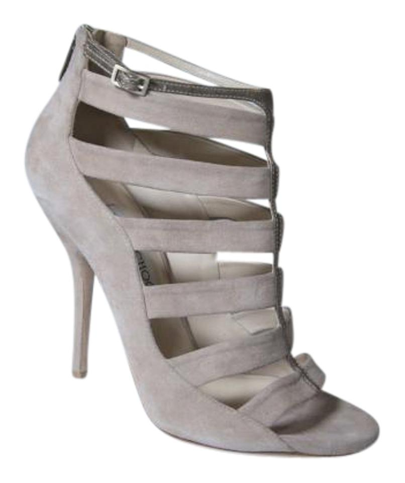 Choo Heels Cage Sandals Bootsbooties New Us Size Nude Jimmy Strappy lTc1FKJ