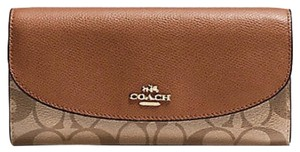 Coach Signature Slim Envelope Wallet