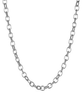 David Yurman David Yurman Medium Chain Link Necklace