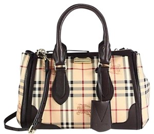 Burberry Satchel in Dark Brown