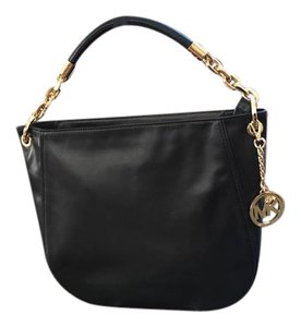 Michael Kors Stanthorne Calfskin Leather Single Chain Strap Shoulder Bag