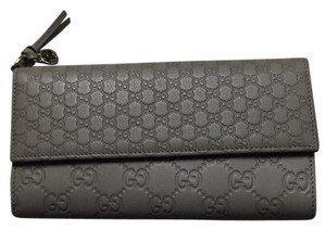 Gucci Gucci Bree Guccissima Leather Continental Wallet
