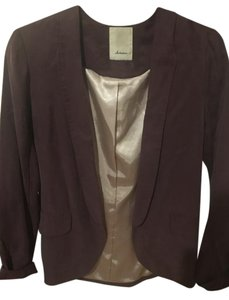 Anthropologie Purple gray Jacket