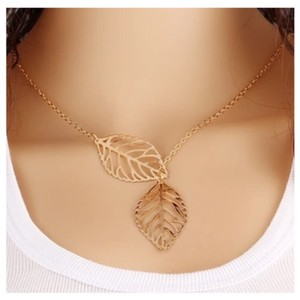 Next Level Dress Leaf Necklace