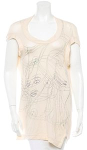 Stella McCartney Multi T Shirt Cream