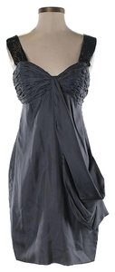 Castle Starr Silk Draped Sweetheart Dress