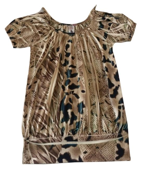 Body Central Bare Top Animal print