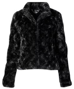 H&M Faux Fur Fur Fur Coat