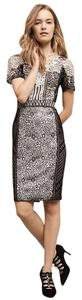 Byron Lars Beauty Mark Pencil Lace Dress