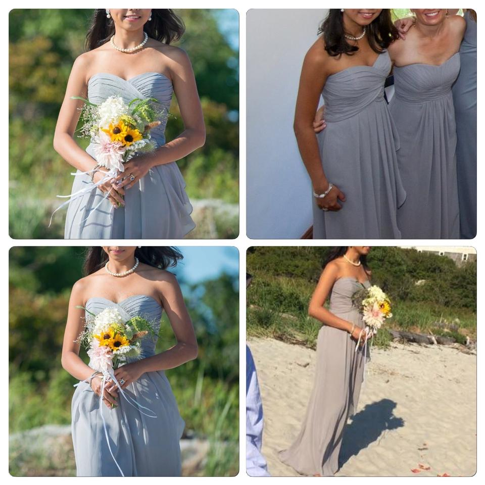 Davids bridal bridesmaids dresses on sale up to 70 off at tradesy davids bridal mercury chiffon cascade skirt formal bridesmaidmob dress size 0 ombrellifo Image collections