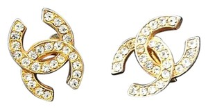 Chanel Crystal CC Earrings 211498