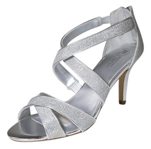 Mootsies Tootsies Sparkle Bridal Strappy 8 Silver Formal