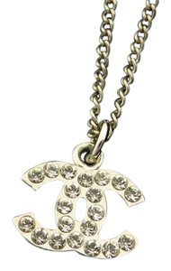 Chanel CC 06v Crystal Necklace 211851