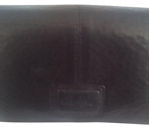 Cole Haan Cole Haan black pebbled leather wallet