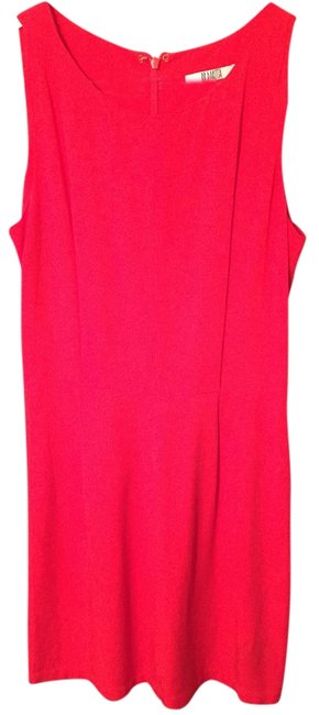 Item - Red Trim Fit Going Party Mid-length Night Out Dress Size 0 (XS)