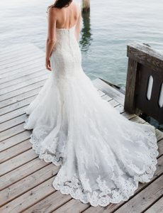 SW3 Bespoke Gorgeous Handmade Mermaid Dress With Long Train Wedding Dress