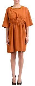 Maison Margiela short dress Orange on Tradesy