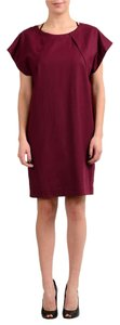 Maison Margiela short dress Burgundy on Tradesy