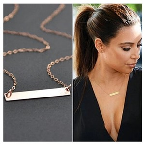 Next Level Dress Bar Necklace