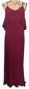Crimson Maxi Dress by Blu Moon