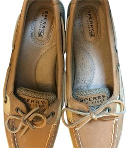Sperry Top Siders Tan Flats
