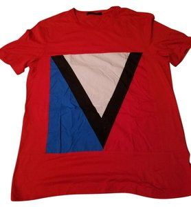 Louis Vuitton T Shirt Red