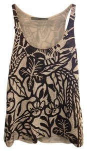 Proenza Schouler Print Embroidered Embellished Top white