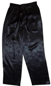 Prophecy Premium Structured Vintage Retro Sparkle Trouser Pants Black