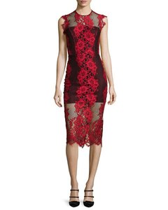 Alexis Pencil Lace Midi Dress