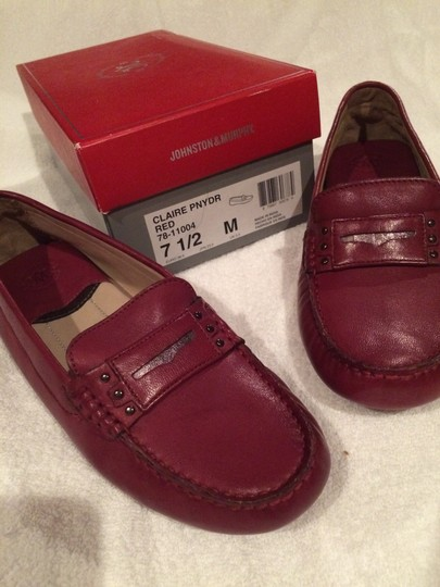 Johnston & Murphy Red Flats