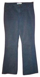 Levi's Boot Cut Pants dark blue denim