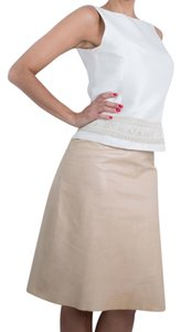 Calvin Klein Cream Skirt Cream/Ivory/Off White/ FREE Same Day Ship /