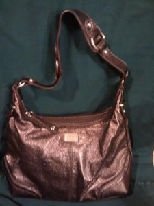 The Sak Metallic Leather Hobo Bag