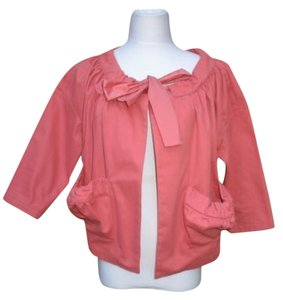 Anthropologie Pink Jacket