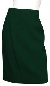 Chanel Vintage Pencil Skirt green