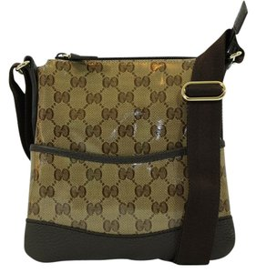 Gucci Gg Supreme Brown Messenger Bag