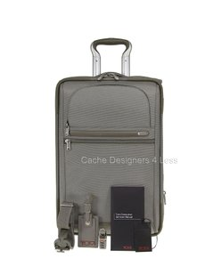 Tumi Gray Travel Bag